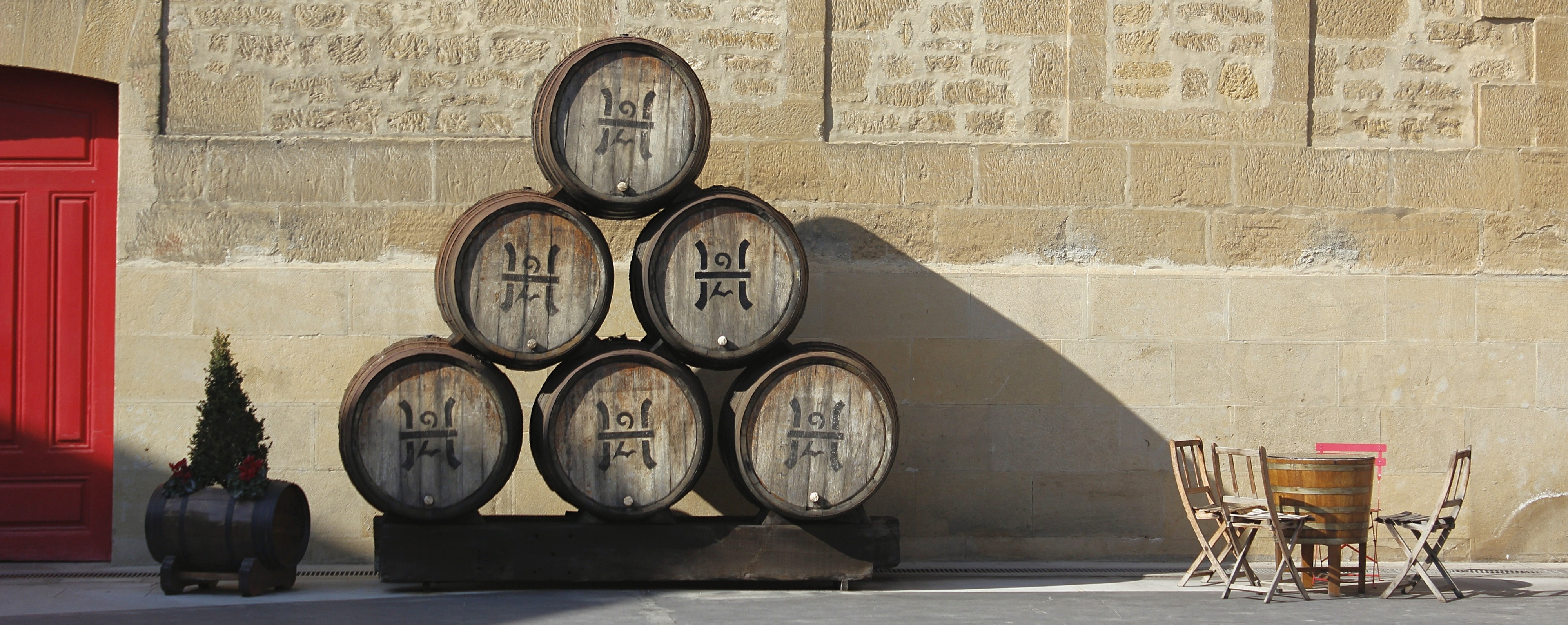 Barrels in a winery during a Rioja one day trip